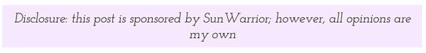 sunwarrior disclosure
