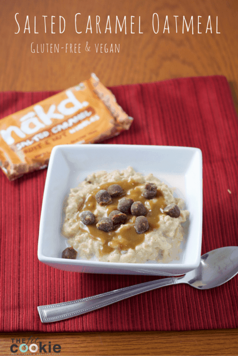 Salted Caramel Oatmeal and Giveaway!