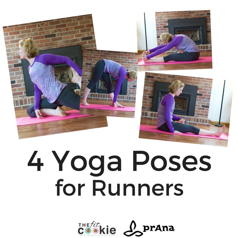 4 Yoga Poses for Runners and #prAnaSpringStyle review and discount! #ad @prana #sweatpink @fitapproach #discount #yoga #fitness