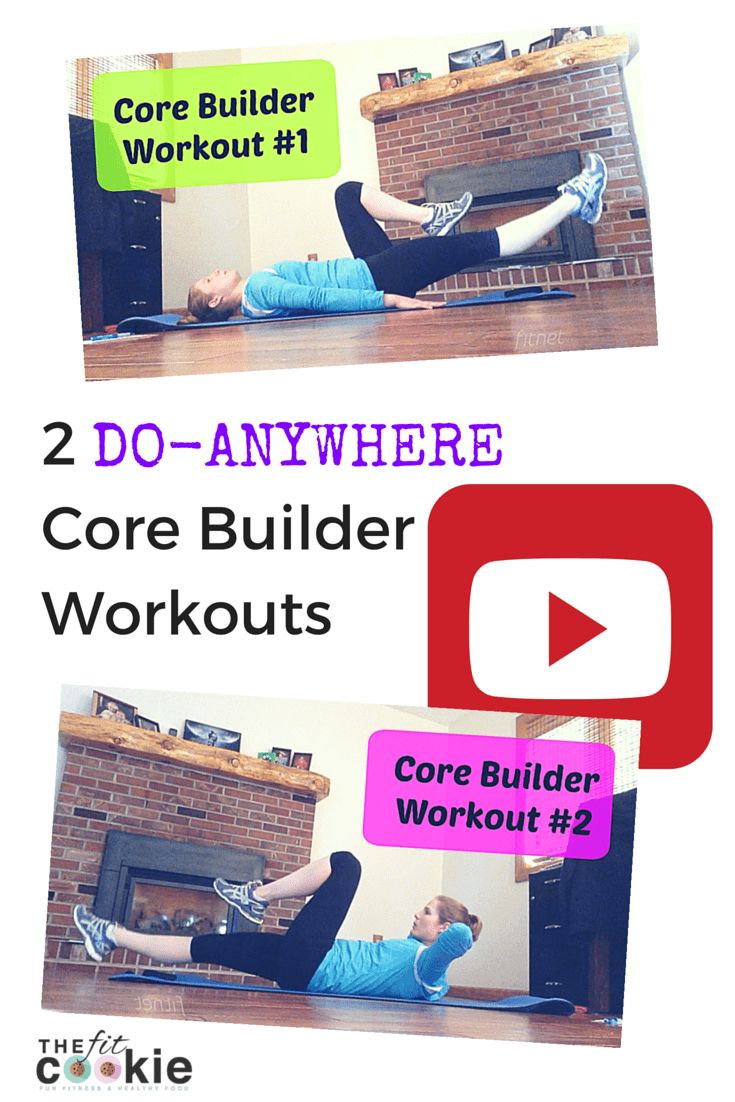 Want to work your abs? Check out my 2 new Core Builder Workout videos! @thefitcookie #workout #fitfluential #video