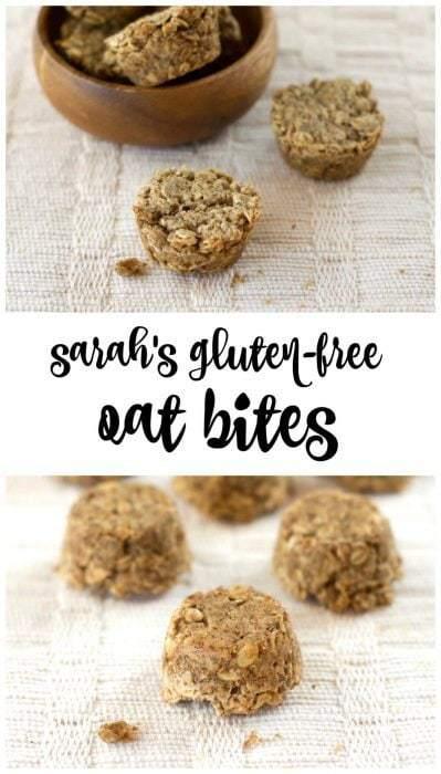 Sarah's Gluten-Free Oat Bites (Vegan)