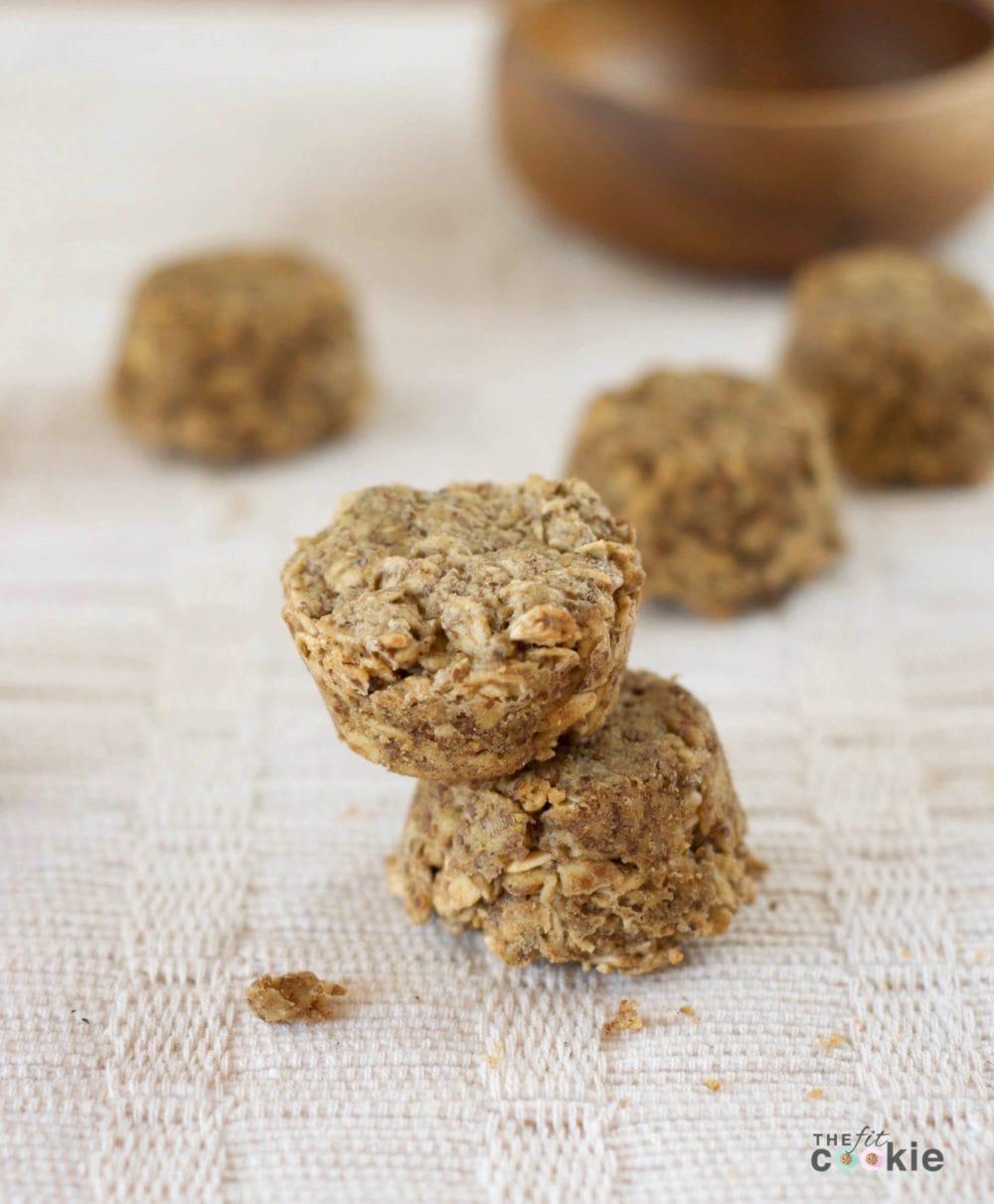 Sarah's Gluten-Free Oat Bites (Recipe Redux) - @thefitcookie #thereciperedux #glutenfree #recipe #vegan