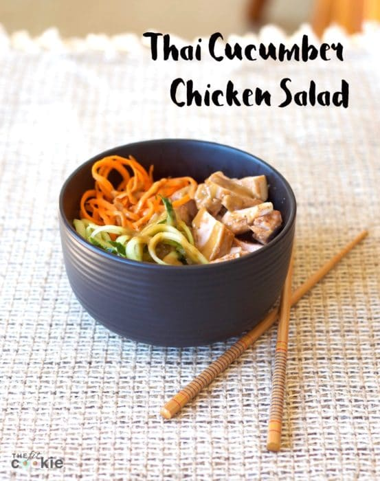 Thai Cucumber Chicken Salad