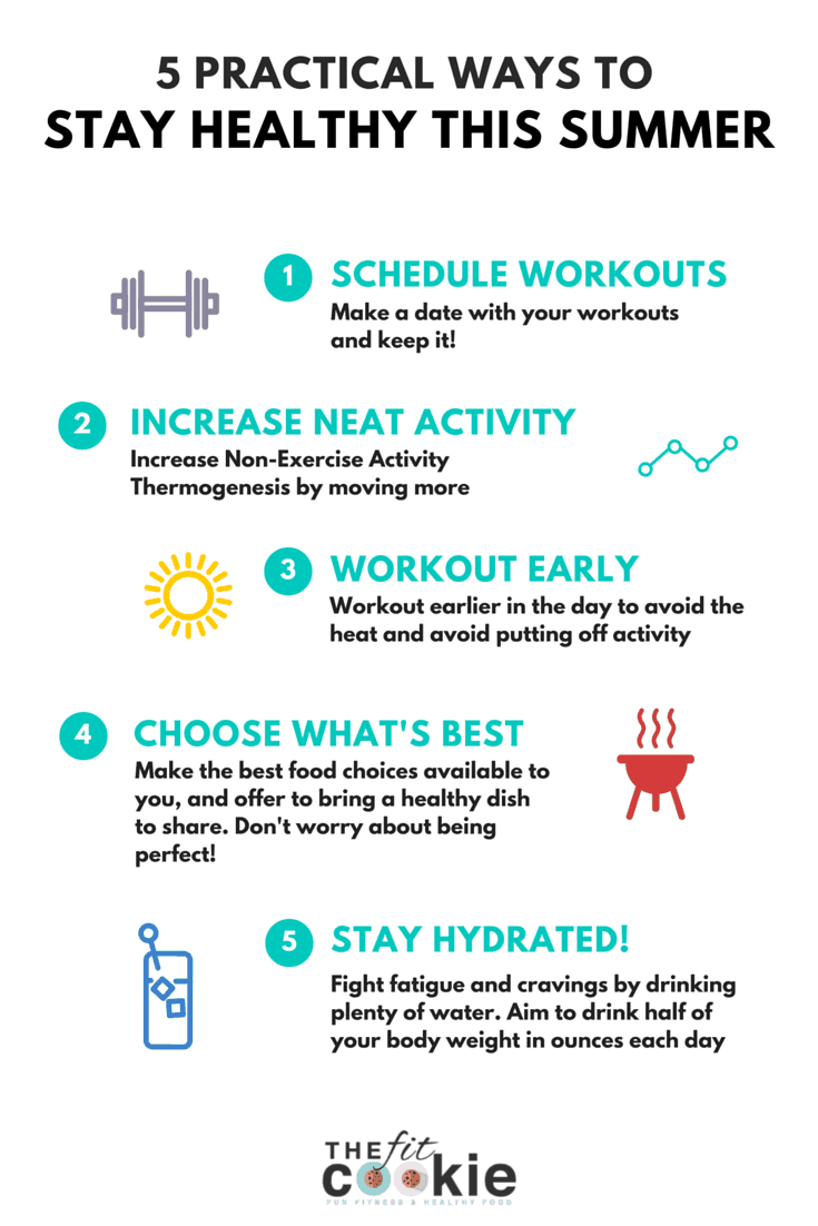 5 practical ways to stay healthy this summer! - #sponsored @thefitcookie @NewChapter #NewChapterVitamins