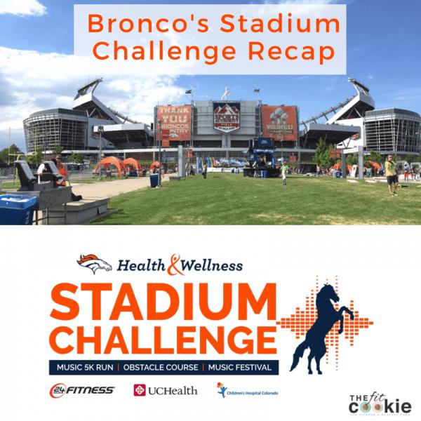 Broncos Stadium Challenge Recap