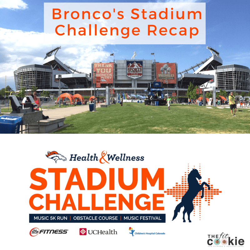 Looking for a fun event in Colorado? Check out my Broncos Stadium Challenge Recap! - #ad @24hourfitness #Rock24Life #LivetheBeat #24hourfitness #race