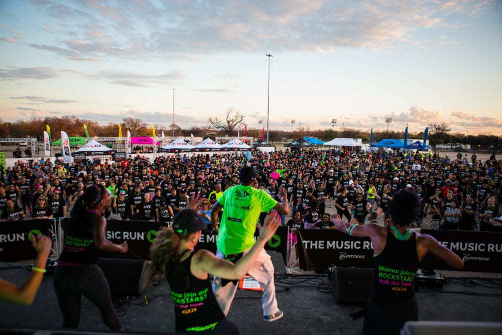 24 Hour Fitness Fitness Music Event - Broncos Stadium Challenge - @thefitcookie #ad @24hourfitness #race #event #fitness