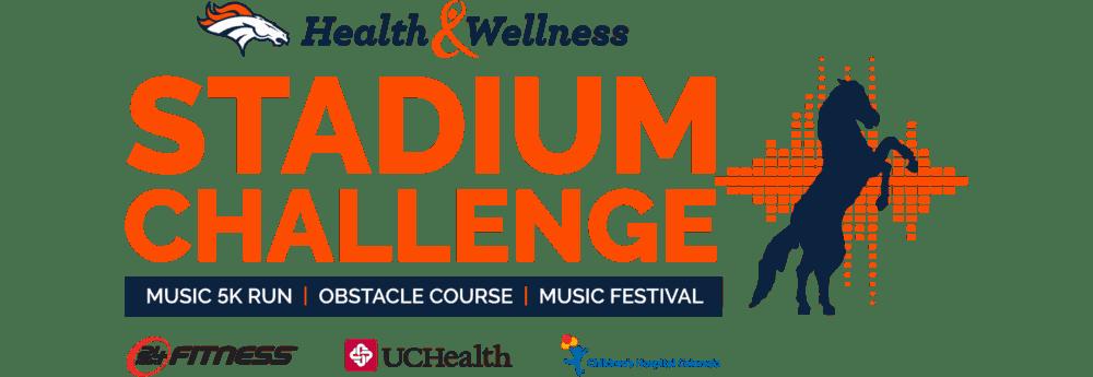 Broncos Stadium Challenge - @thefitcookie #ad @24hourfitness #race #event #fitness