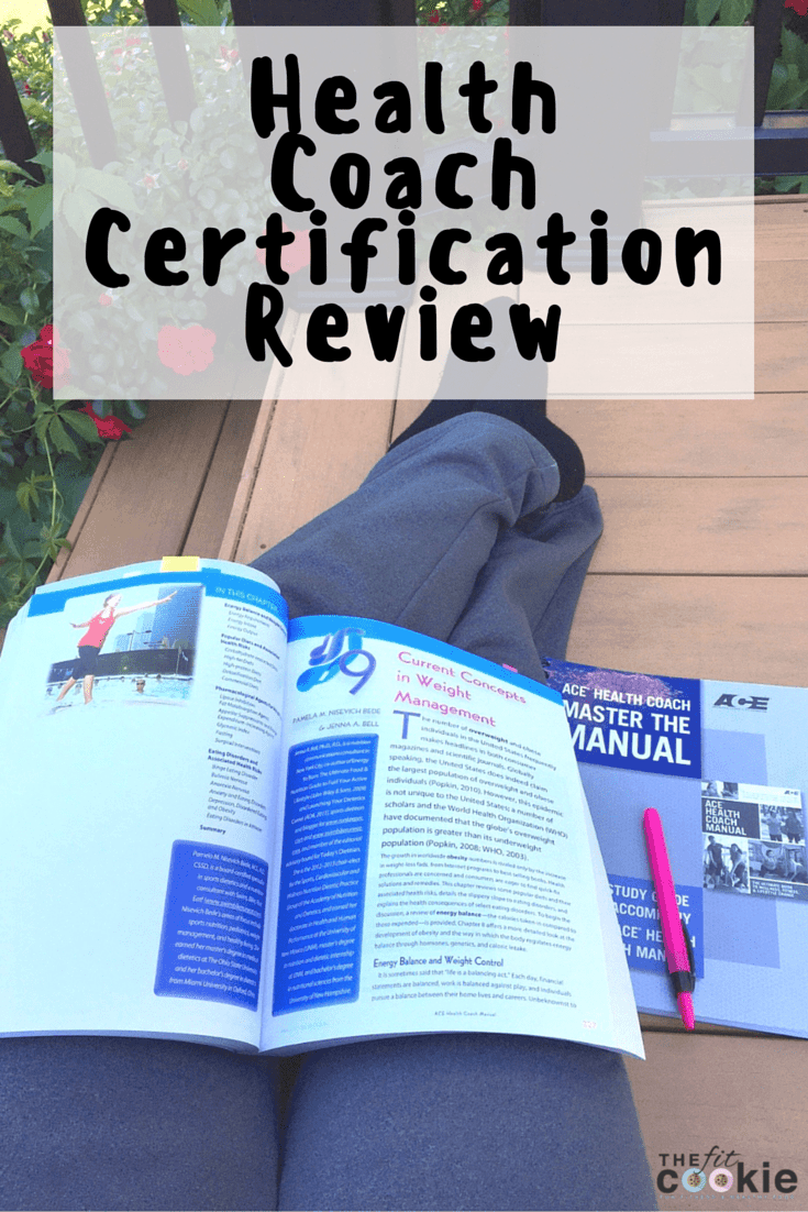 ACE® Fitness Health Coaching Certification Review - #sponsored @thefitcookie @acefitness #getACEcertified #fitness