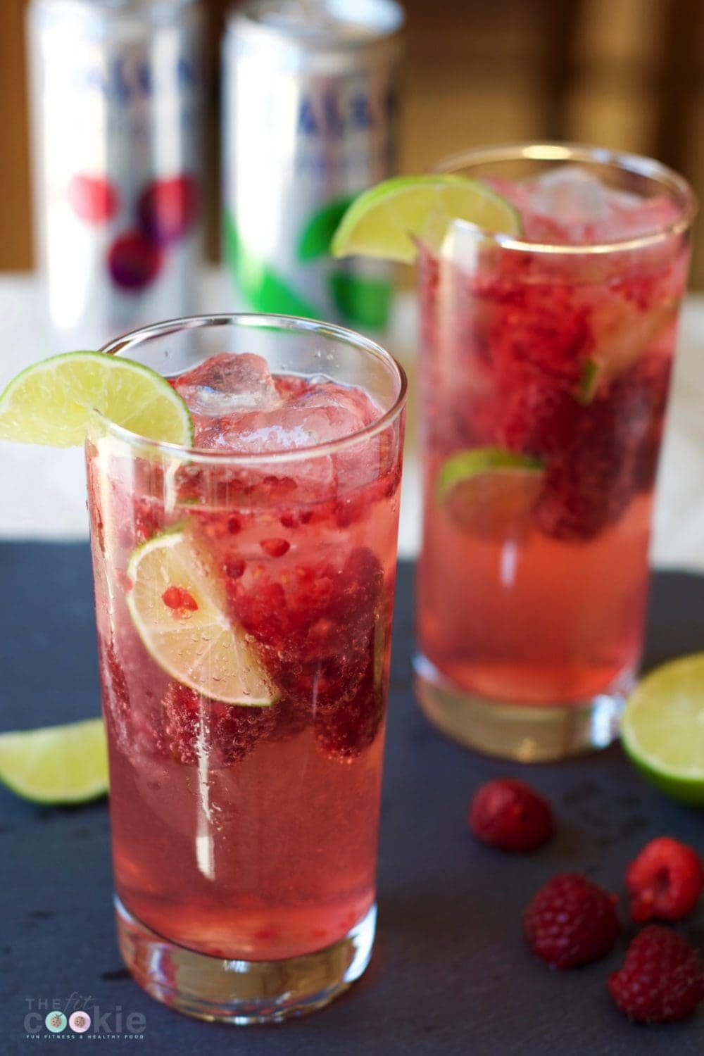 Take a break from the heat with this refreshing Rasberry Lime Sparkling Water mocktail made with DASANI® Sparkling. It's low carb, has no added sugar, and natural - #ad @thefitcookie #cbias #FindYourSparkle @dasaniwater #glutenfree #vegan #lowcarb #mocktail