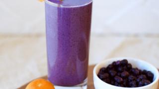Creamy Blueberry Orange Smoothie