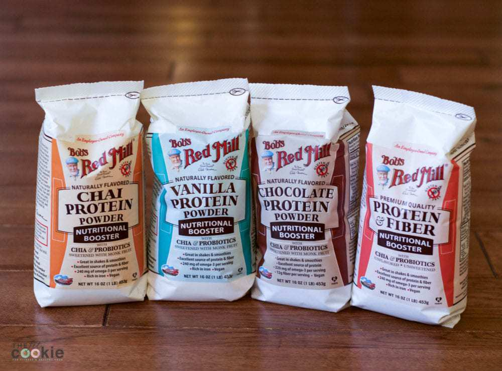 Bob's Red Mill new vegan protein powders #glutenfree #vegan - @thefitcookie #ad @BobsRedMill #SummerStrong #recipe #FuelYourAwesomeness #sweatpink