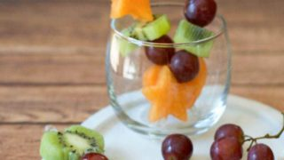 Fun Shape Fruit Kabobs