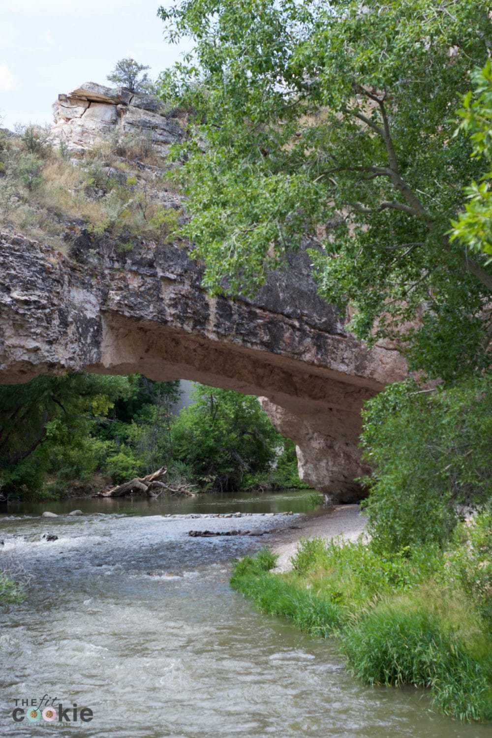 Explore the natural beauty of Wyoming and visit Ayres Bridge outside of Douglas, it's a fun place to explore and have a picnic! - @TheFitCookie #travel #Wyoming #explore