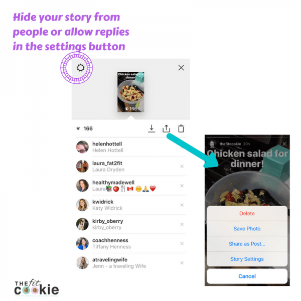 How to Use Instagram Stories (A Visual Guide) - @thefitcookie #socialmedia #blogging #fitfluential
