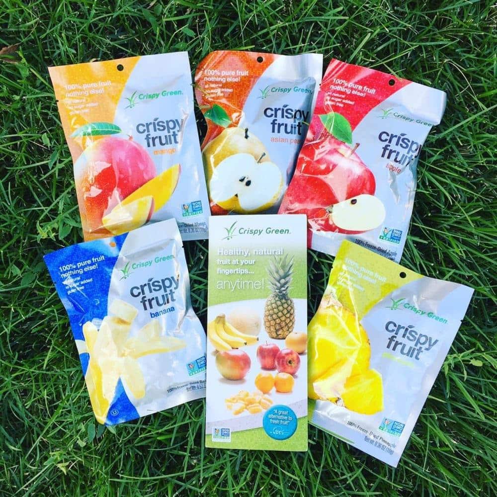 Crispy Fruit from Crispy Green, News and New Things #15 - #sponsored #nutrition #fruit #snacks