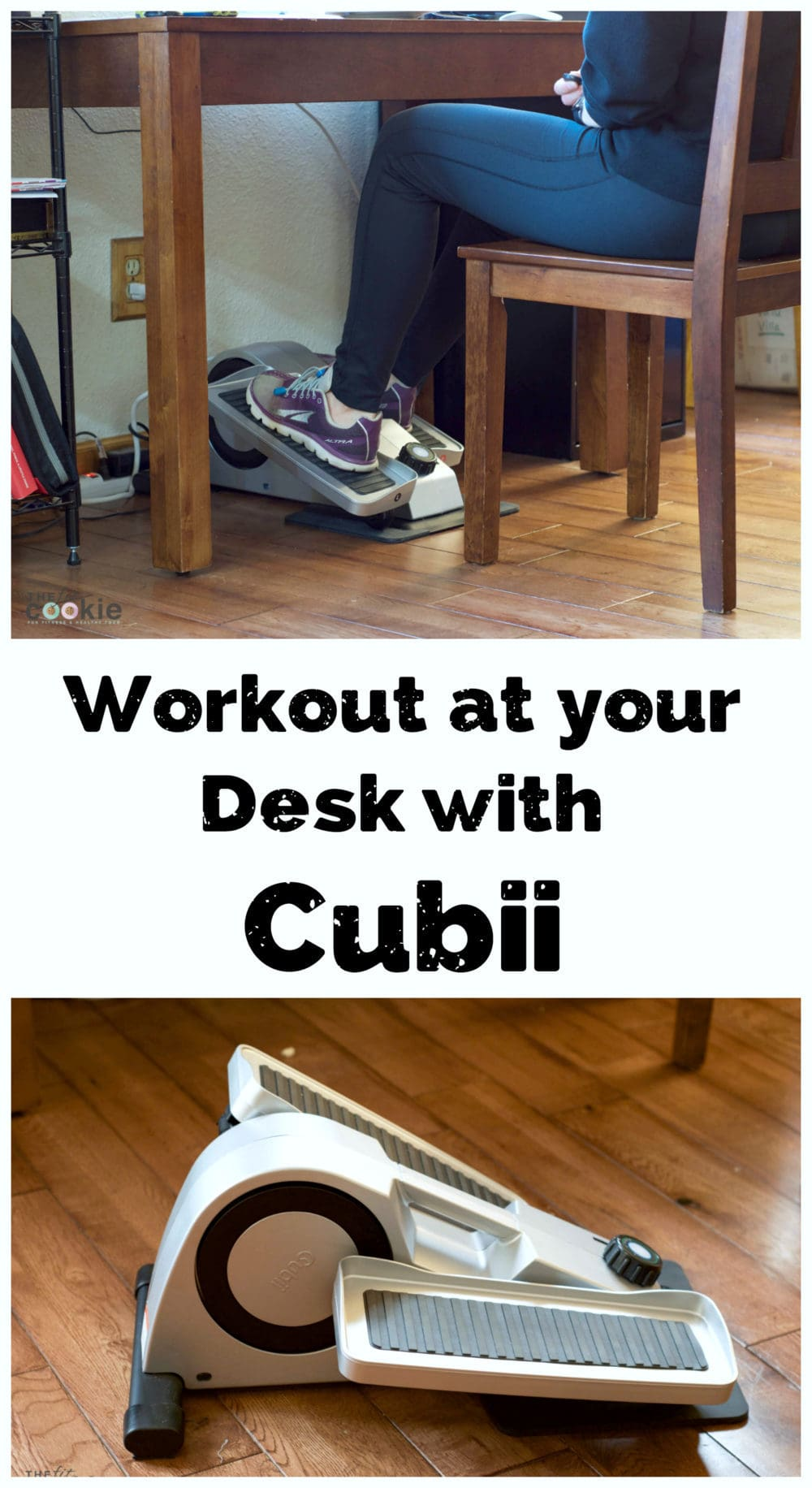 Workout at Your Desk with Cubii (review and discount!) - #ad @MyCubii #fitness #discount