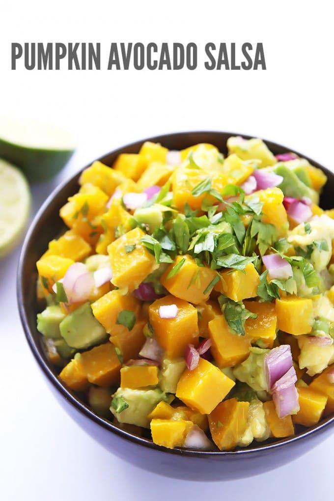 Pumpkin Avocado Salsa - LeelaLicious