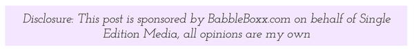 Disclosure: this women's health post is sponsored by BabbleBoxx