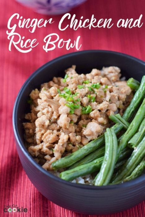 Ginger Chicken & Rice Bowl (Gluten & Soy-Free)