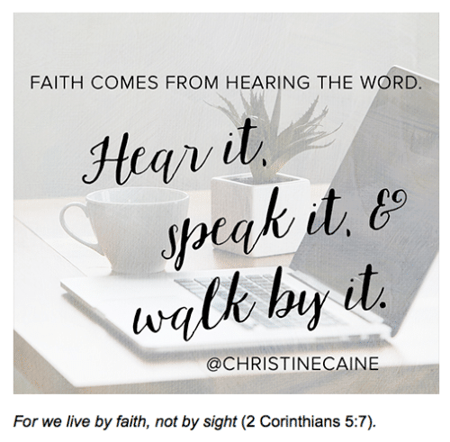 News and New Things #16: encouraging word for the week! - @TheFitCookie #faith #encouragement