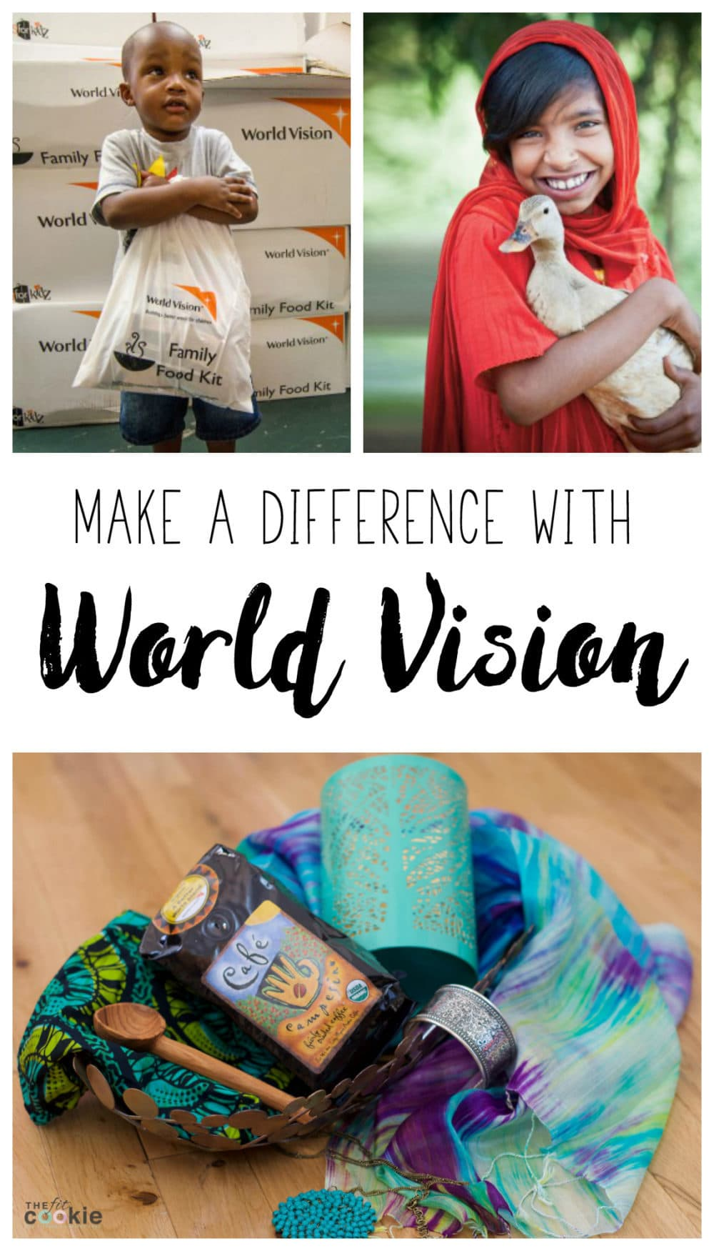 Give back this year and make a difference with @WorldVision (and a #giveaway!) - @TheFitCookie #ad #giftcatalog #charity