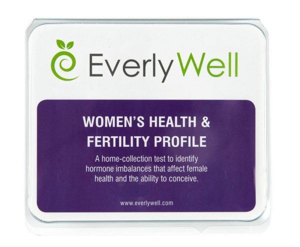 image of EverlyWell Women's Health and Fertility Profile test kit