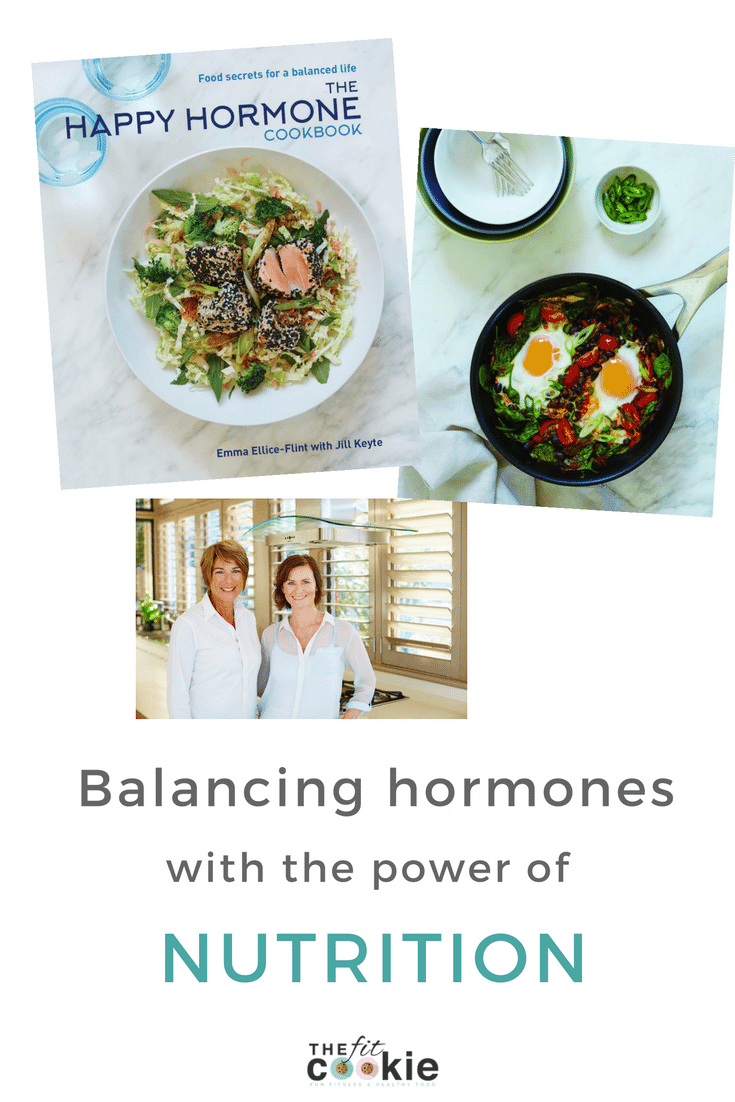 Balancing Hormones with the Power of Nutrition: The Happy Hormone Cookbook interview - @TheFitCookie #nutrition #health #wellness
