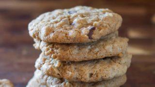 Dairy Free Wyoming Cowboy Cookies (Gluten-Free)