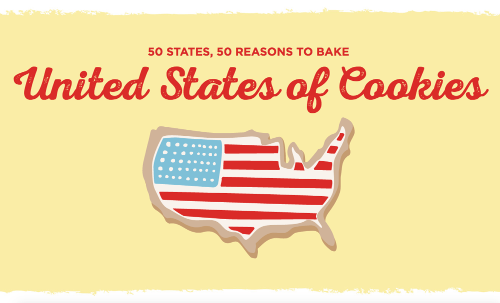 Baking across the USA: United States of Cookies: Wyoming Cowboy Cookies (#GlutenFree) - @TheFitCookie #AD #50StatesofCookies @BobsRedMill