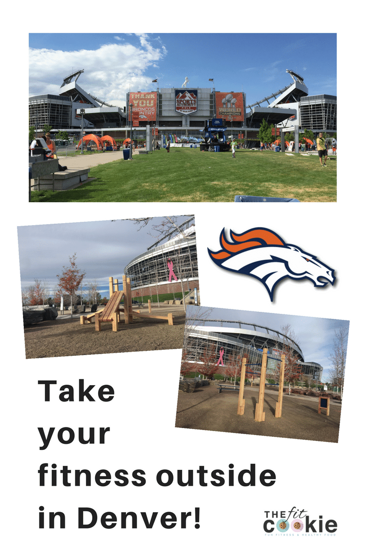 Take Your Fitness Outside in Denver! - @TheFitCookie @24hourfitness @broncos #fitness #Colorado