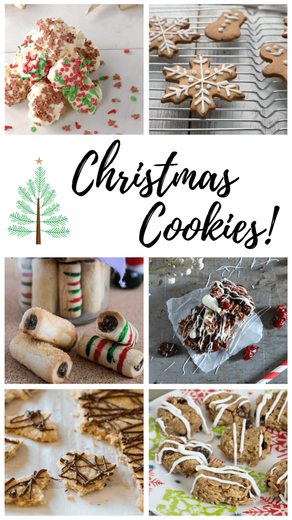 Food Blog Genius Christmas Cookies - @TheFitCookie #cookies #Christmas