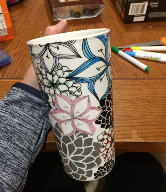 colorable travel mug - travel mug you can color with markers