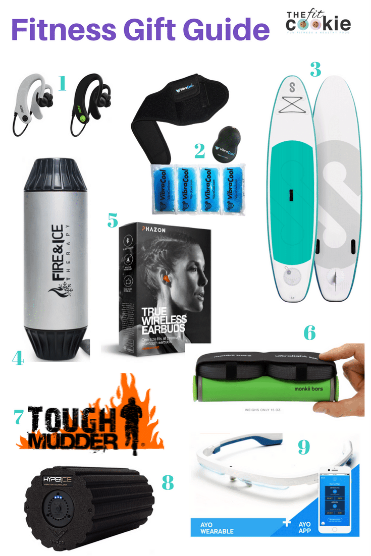 The Fit Cookie's Holiday Fitness Gift Guide is here with plenty of fun and unique fitness gifts! - @TheFitCookie #fitness #gifts #fitfluential