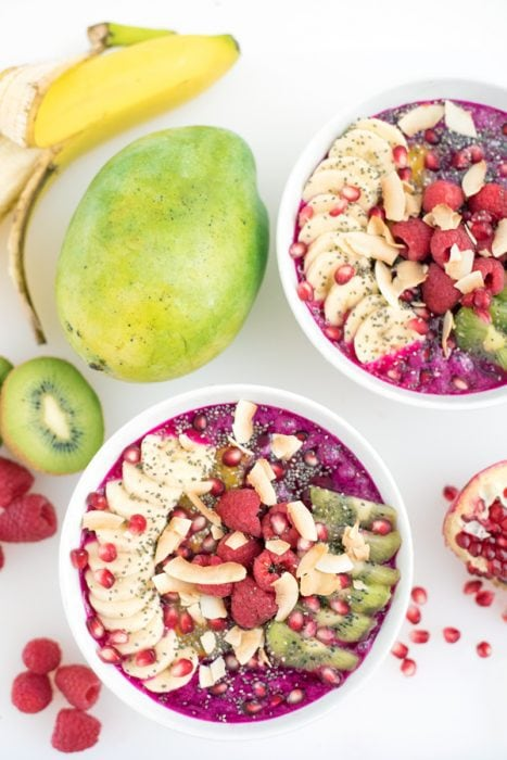 Dragonfruit Pitaya Bowl - A Side of Sweet