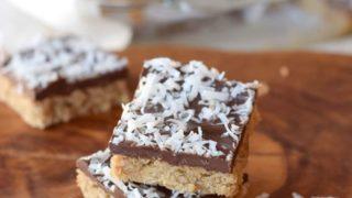 Gluten Free Chocolate Cookie Bars (Vegan)