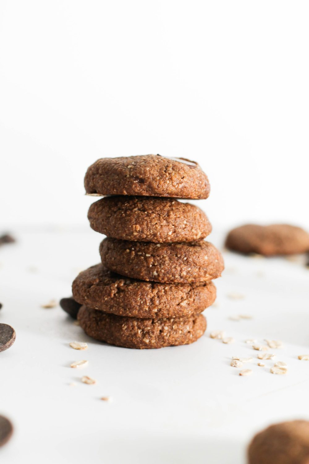 60 Gluten Free and Dairy Free Christmas Cookies: Flourless Chocolate Almond Butter Cookies from Danielle's Kitchen #glutenfree