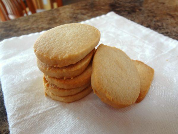 gluten free slice and bake sugar cookies
