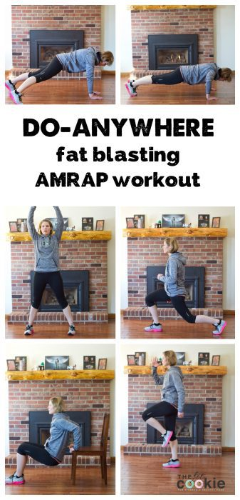Fat-Blasting Home Workout