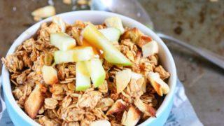 Gluten Free Apple Cinnamon Granola (Vegan)