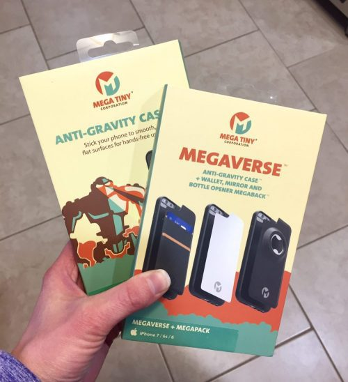Megaverse AntiGraviry phone cases by Megatiny