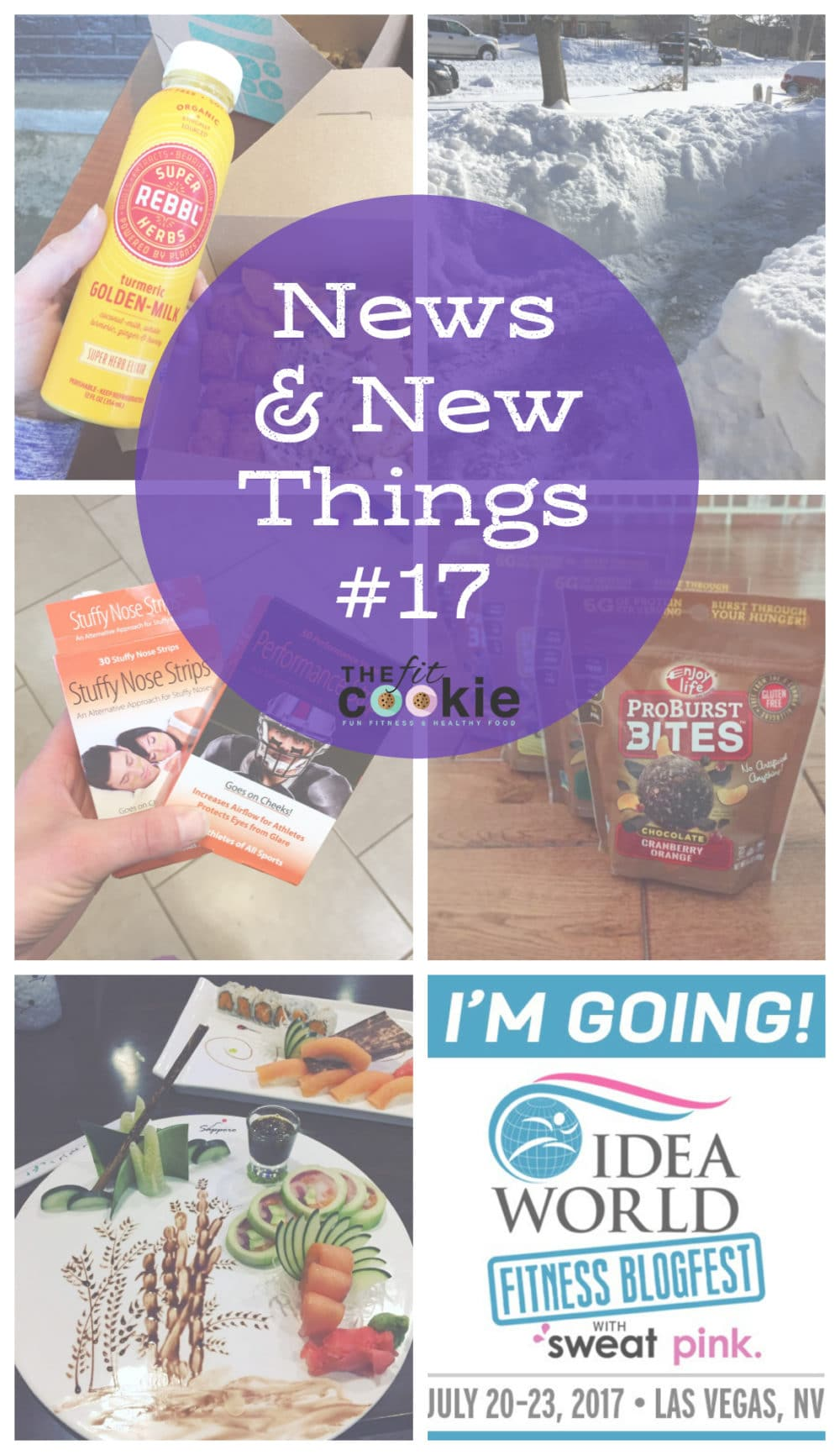 News & New Things #17: Stuff I'm Trying and Loving! - @TheFitCookie #ad #fitness #fitfluential
