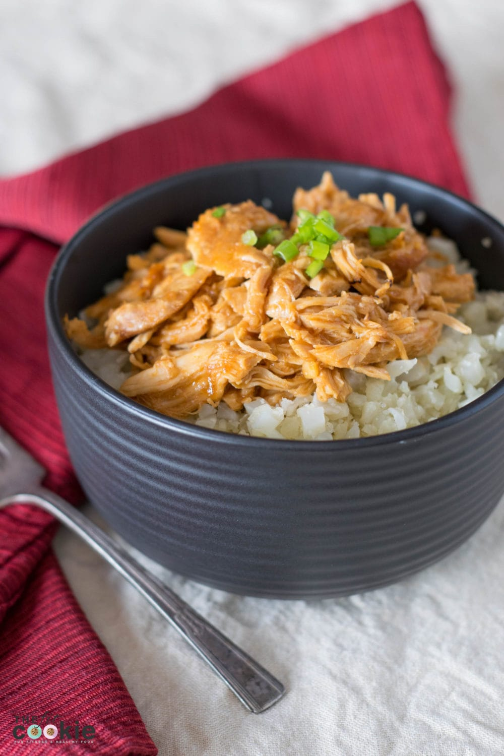 Slow Cooker Asian Chicken recipe (Gluten free and Soy Free) - @TheFitCookie #slowcooker #fitfluential
