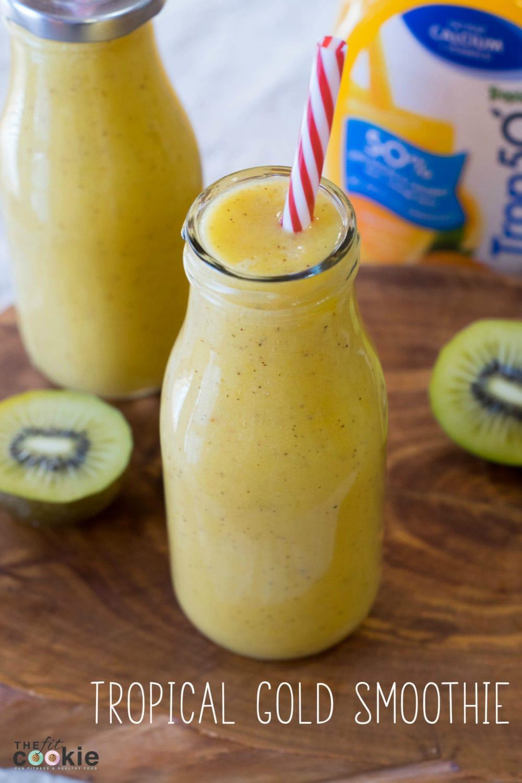 Sunny Tropical Smoothie (Vegan)