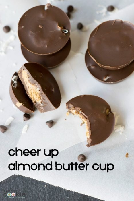 Cheer Up Almond Butter Cup from The SexyFit Method