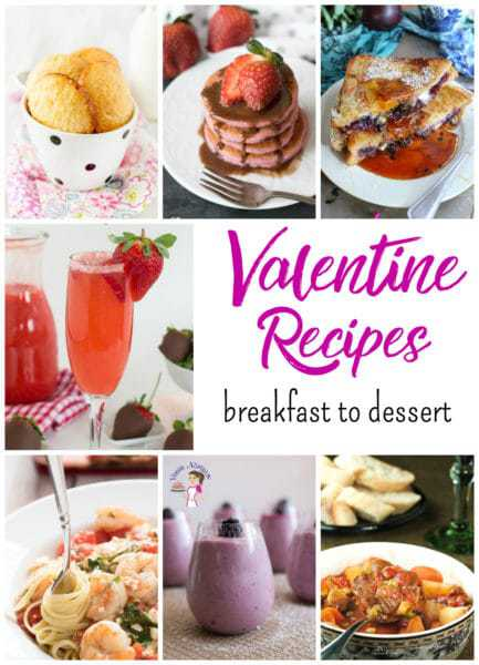 7 Recipes for your Valentine, from breakfast to dessert! - @TheFitCookie #foodbloggenius