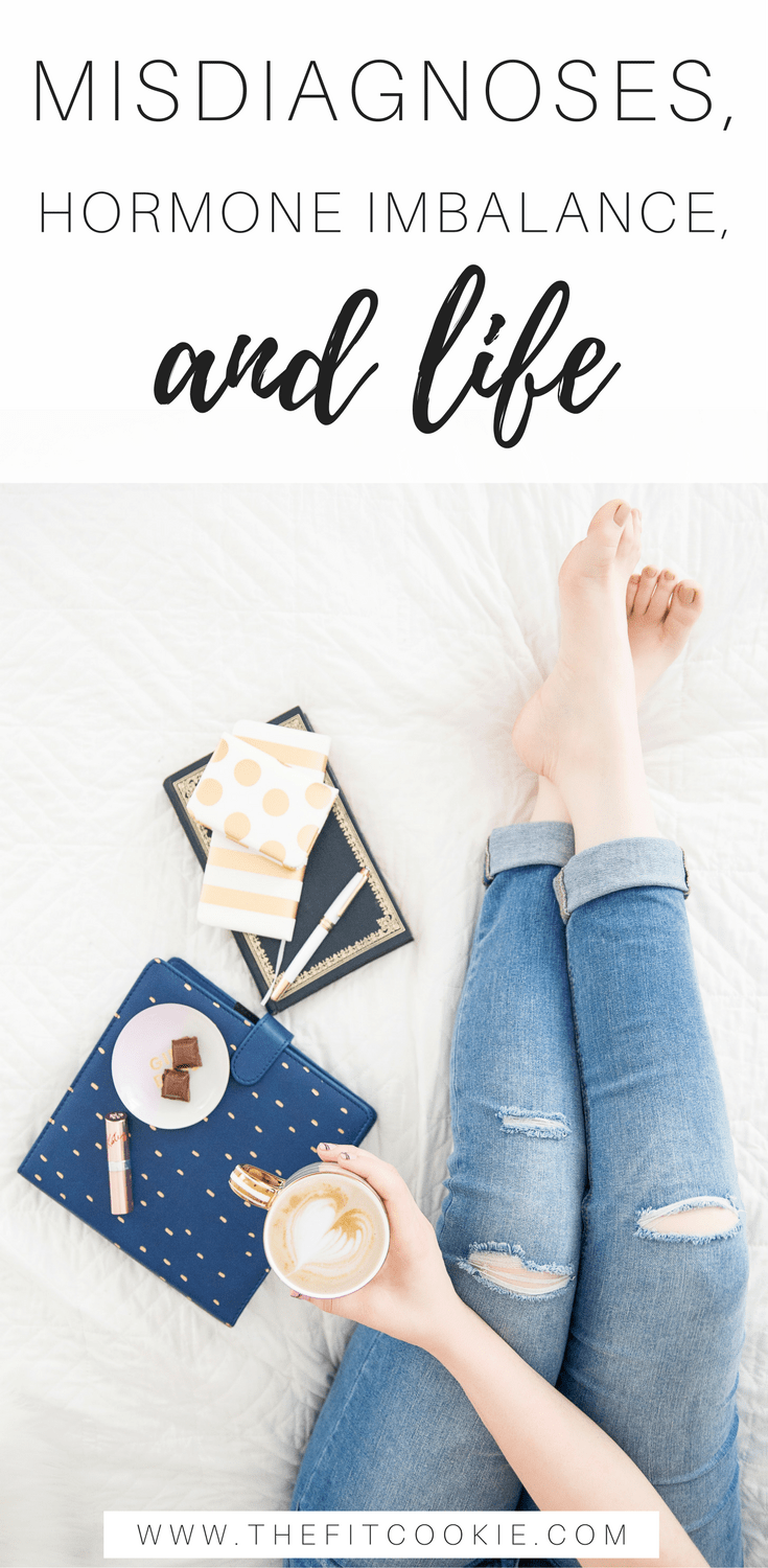 Misdiagnoses, Hormones, and LIFE: my health journey through the past year and how I'm working on my wellness - @TheFitCookie #fitfluential