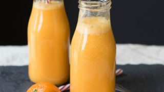Drink the Rainbow: Healthy Orange Creamsicle Smoothie