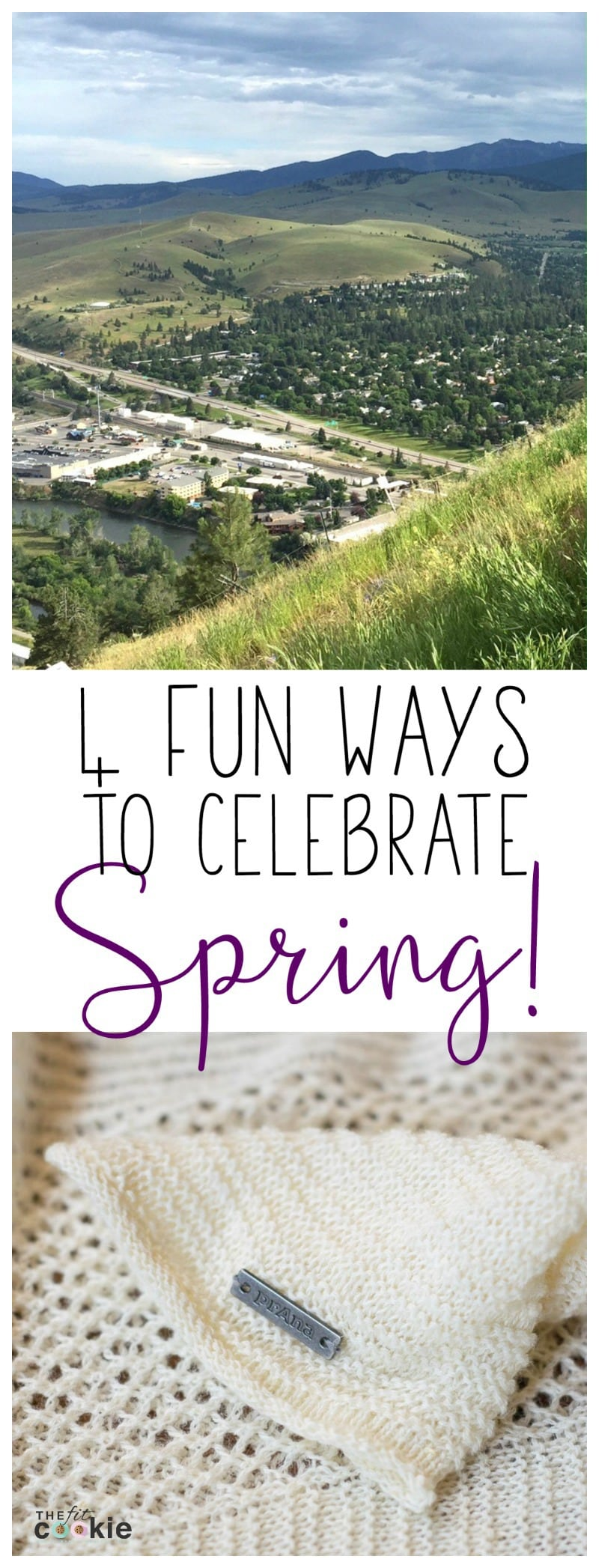 The first day of Spring is right around the corner! Here are 4 fun ways to celebrate Spring (you'll love #4!) - @TheFitCookie #ad @prana @fitapproach #sweatpink