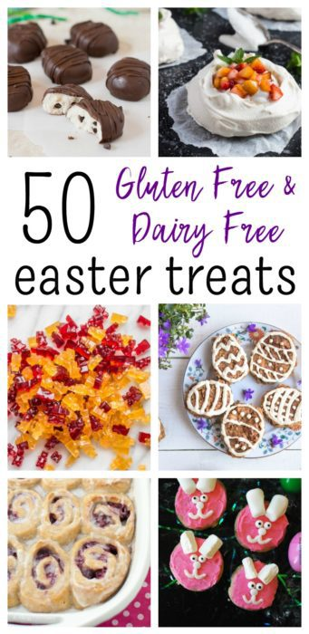 50 Gluten Free and Dairy Free Easter Treats